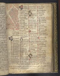 Zoomorphic Interlace Initial, In A Volume Of Miscellaneous Prose And Verse Theological Texts(011ADD000030512U00048000)